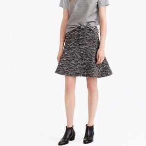 J. Crew Plaza Skirt in Tweed Size 2